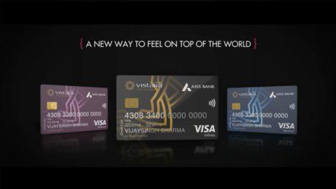 Axis Bank Vistara Credit Cards