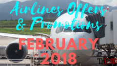Airlines Offers & Promotions for this February 2018