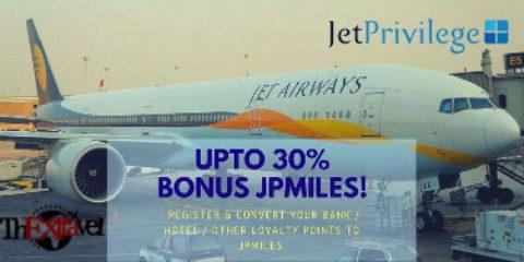 Upto 30% Bonus JPMiles