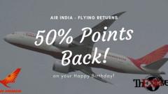 Flying Returns- 50% Points Back