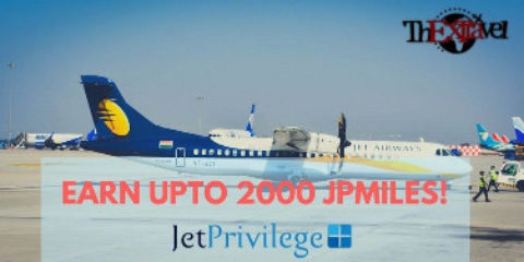 Earn upto 2000 JPMiles
