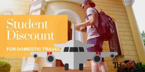 Student's Discount for Domestic Travel