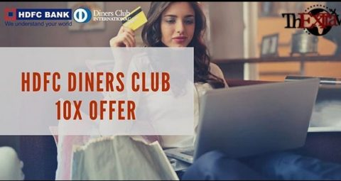 HDFC Diners Club 10X Offer