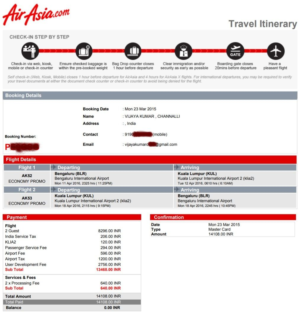 Cheapest International Air Tickets Bengaluru to Kuala Lumpur