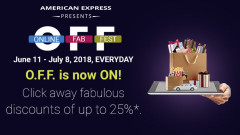 Online Fab Fest by American Express