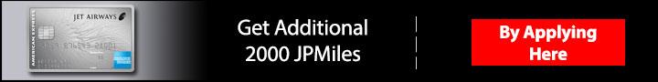 Jet Airways American Express Credit Card