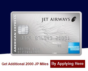 Jet Airways American Express Credit Card