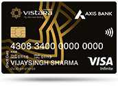Axis-Bank Vistara Infinite Credit Card