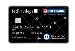 Jetprivilege HDFC Diners Club Credit Card