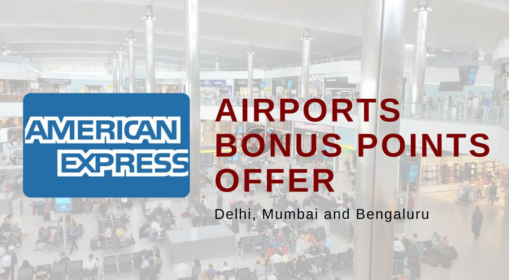 Amex Airports Bonus Points Offer