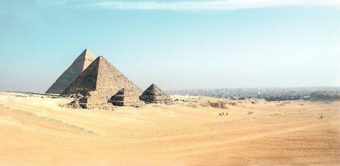 Mumbai to Cairo round-trip for ₹24167 ($330)