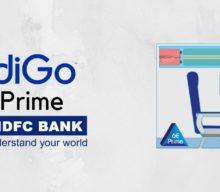 Indigo 6E Prime at zero cost with HDFC Bank