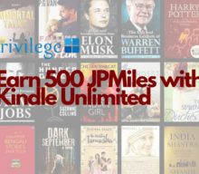 Earn 500 JPMiles with Kindle Unlimited