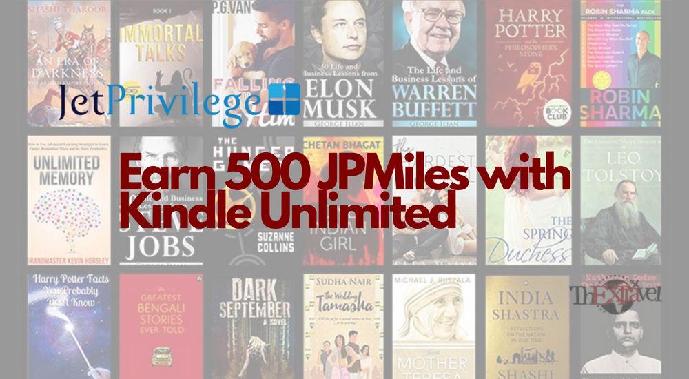 JetPrivilege Kindle Unlimited