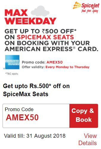 SpiceJet Max Weekday