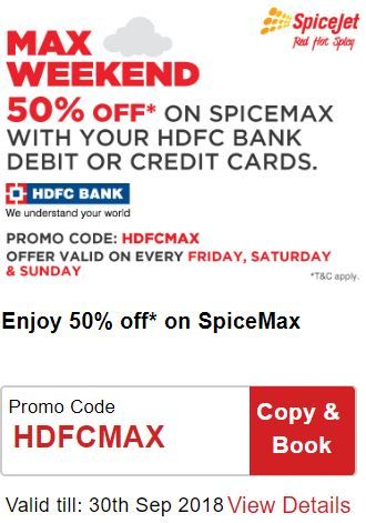 SpiceJet Max Weekend