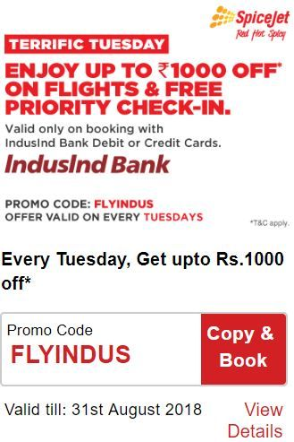 SpiceJet Terrific Tuesday