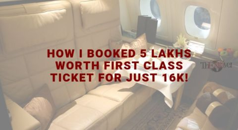 How I Booked 5 Lakhs Worth First Class Ticket for Just 16K!