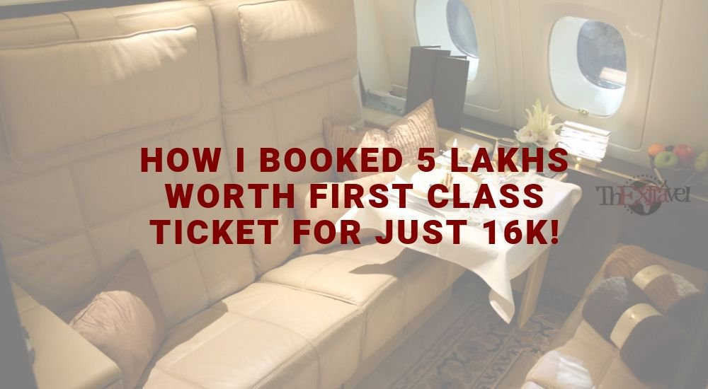 First class is booked