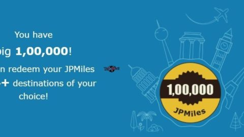 How I Earned More Than 1 Lakh JPMiles in 1 Year