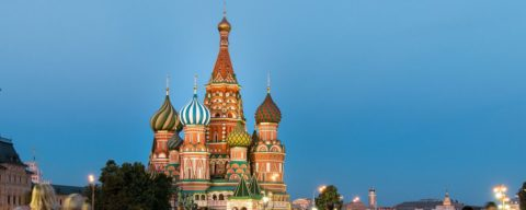 HOT! Goa to Moscow One-way ₹ 3761 ($ 52)