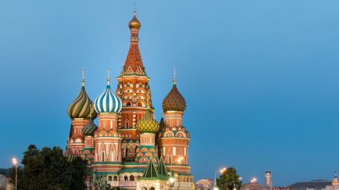 HOT! Goa to Moscow One-way ₹ 4074 ($ 55)