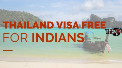 Thailand Visa Free for Indians | Visa on arrival fee waiver extended