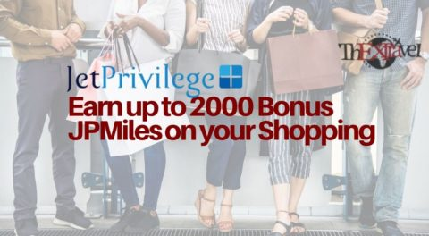 Earn up to 2000 Bonus JPMiles on your Shopping