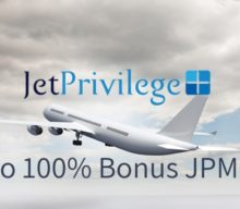 Upto 100% Bonus on Purchasing JPMiles