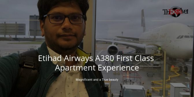 Etihad Airways A380 First Class Apartment Experience