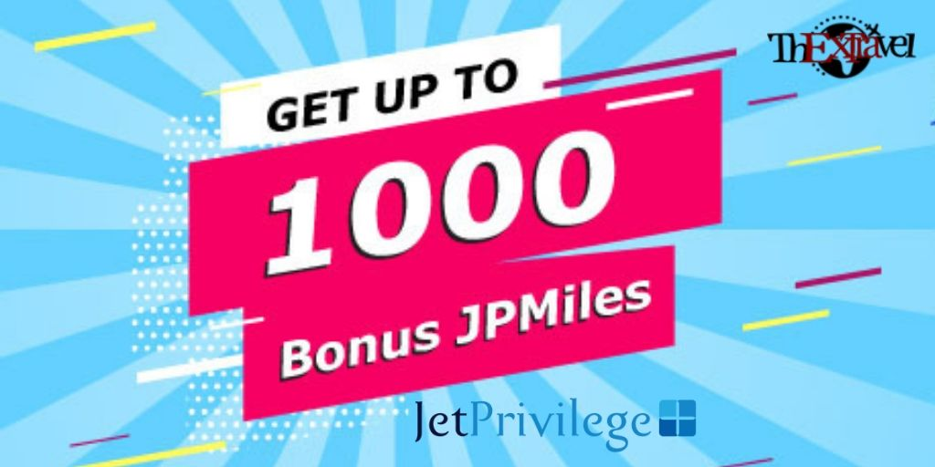 JetPrivilege Bonus Offer