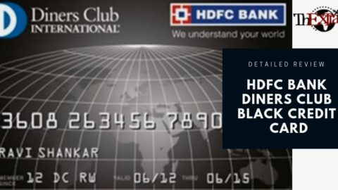 HDFC Bank Diners Club Black Credit Card Review